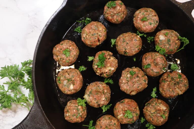 Lamb kofta before cooking1