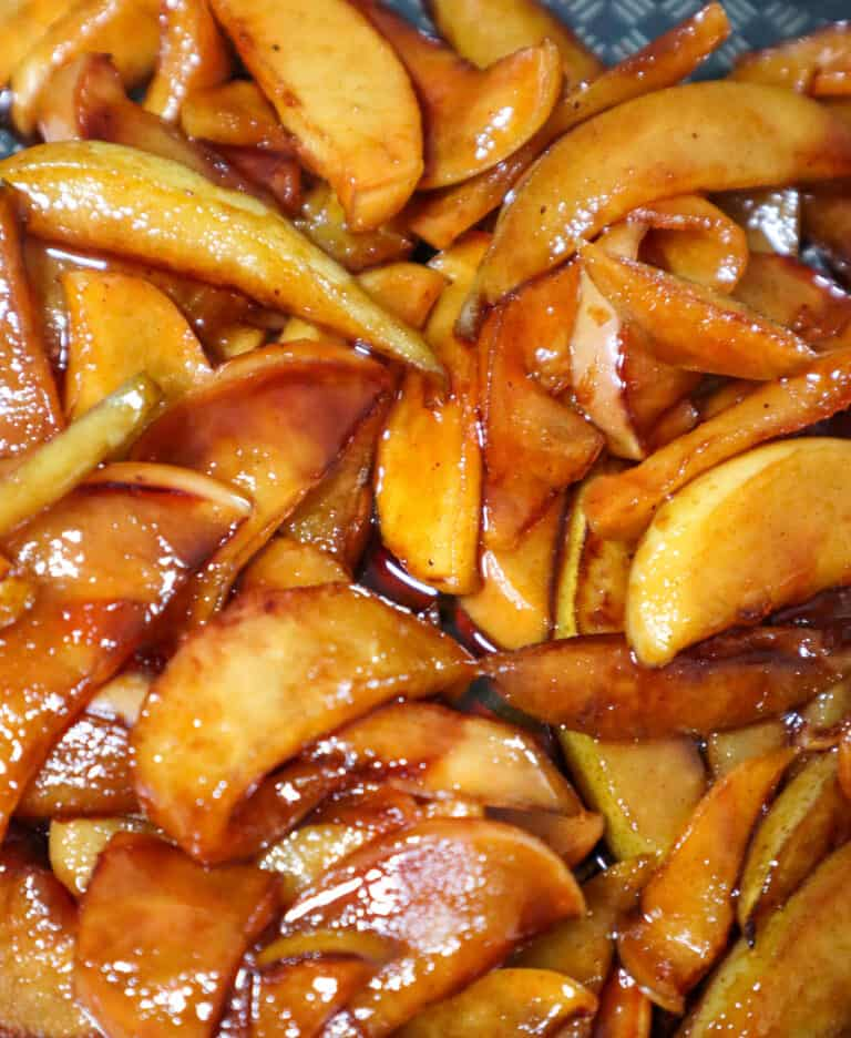 Caramelized Apple topping for pancakes