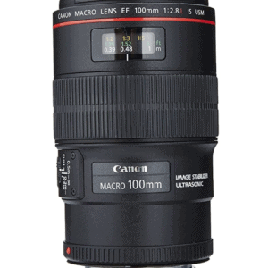 Canon EF 100mm f/2.8L IS USM Macro Lens for Canon Digital SLR Cameras,