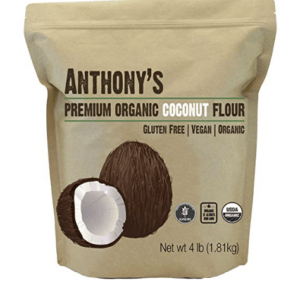 Anthony's Organic Coconut Flour, 4lbs