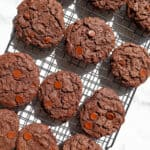 gluten free vegan chocolate cookies