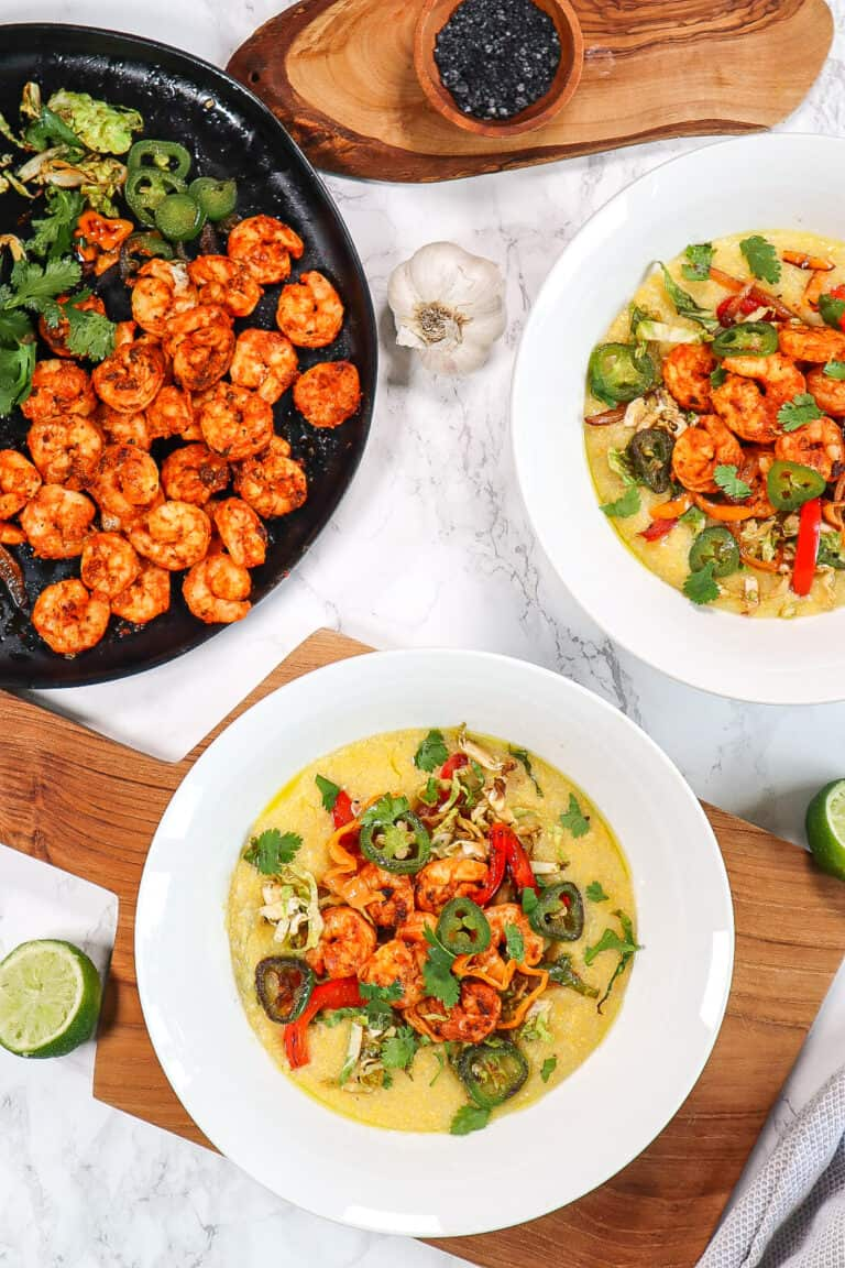 shrimp and polenta recipe