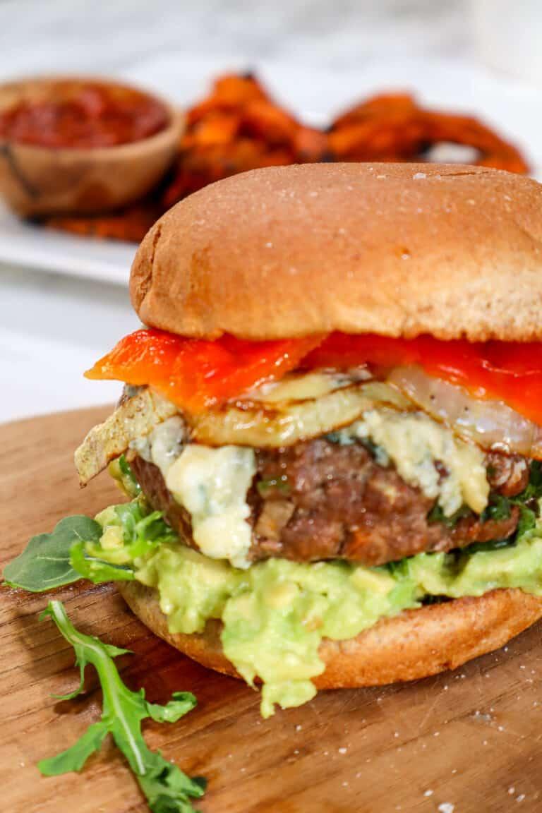 habanero bison burger