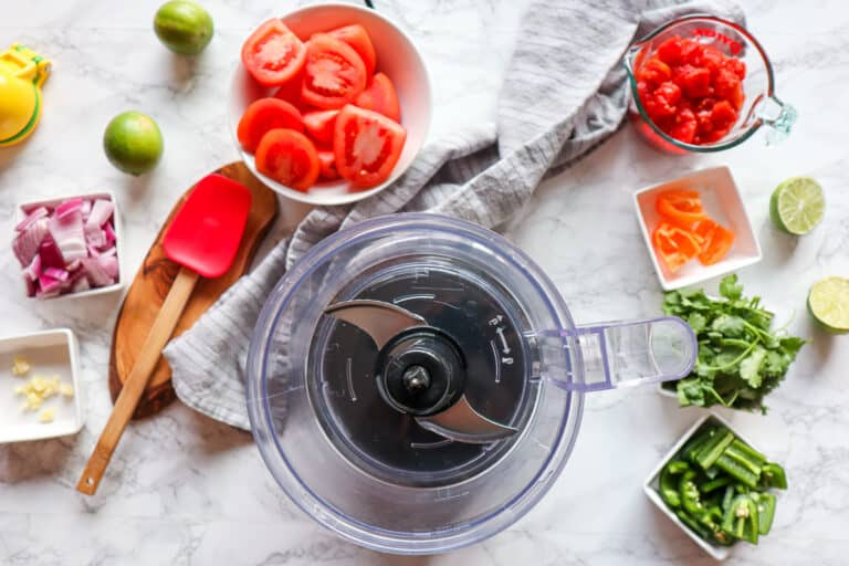 salsa ingredients, tomatoes, jalapenos, habaneros, plus more