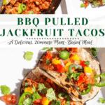 VEGAN BBQ PULLED JACKFRUIT TACOS goodfoodbaddie
