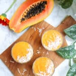 papaya in a smoothie