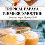 Pin It! Papaya Smoothie Recipe!