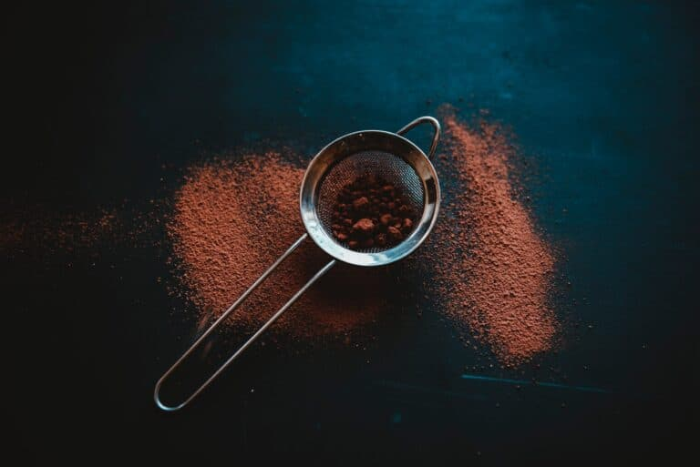 raw cacao powder for hot chocolate