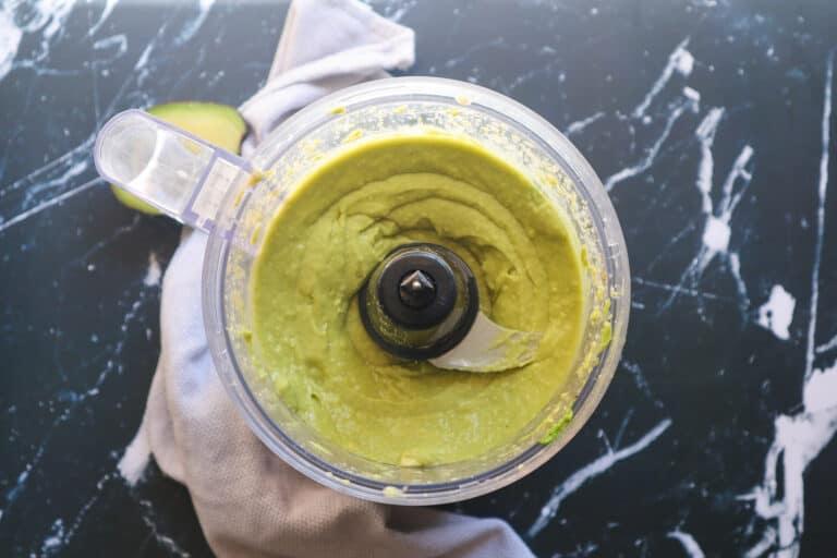 avocado mixture for making healthy bread