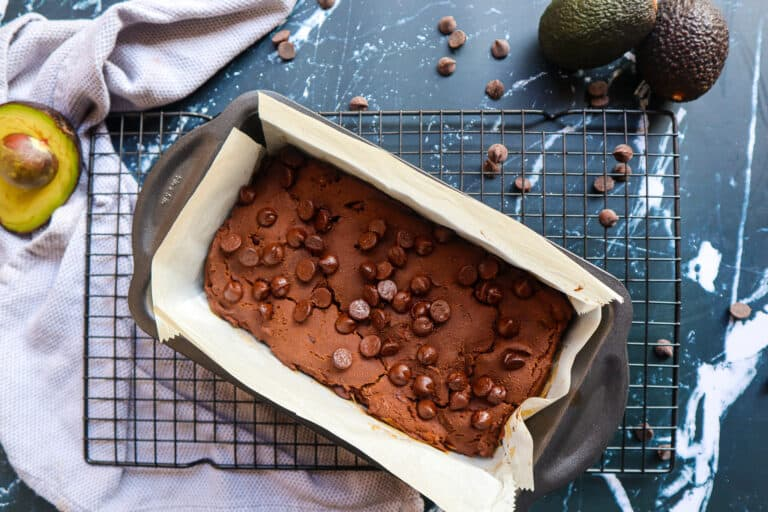 how to make the best avocado chocolate bread