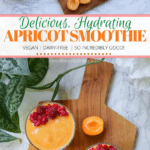 Pin It! Goodfoodbaddie apricot smoothie