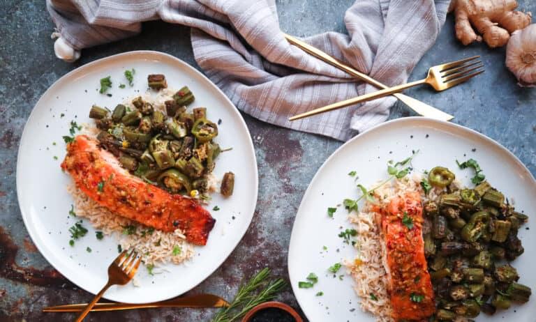 easy weeknight salmon meal
