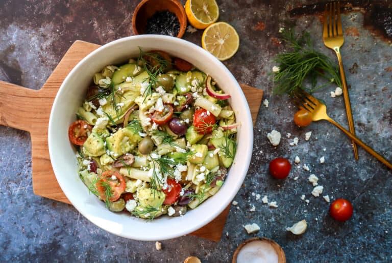 gluten free pasta salad vegan