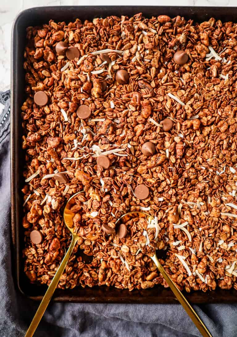 healthy granola clusters