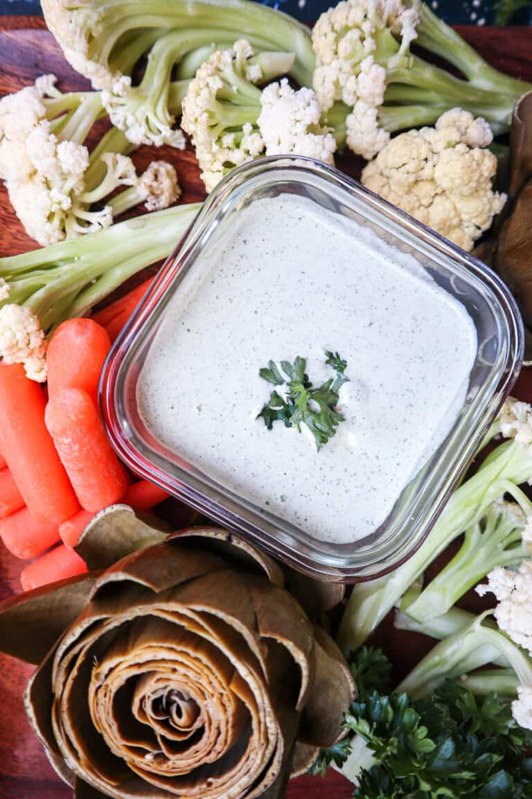homemade healthy ranch dressing