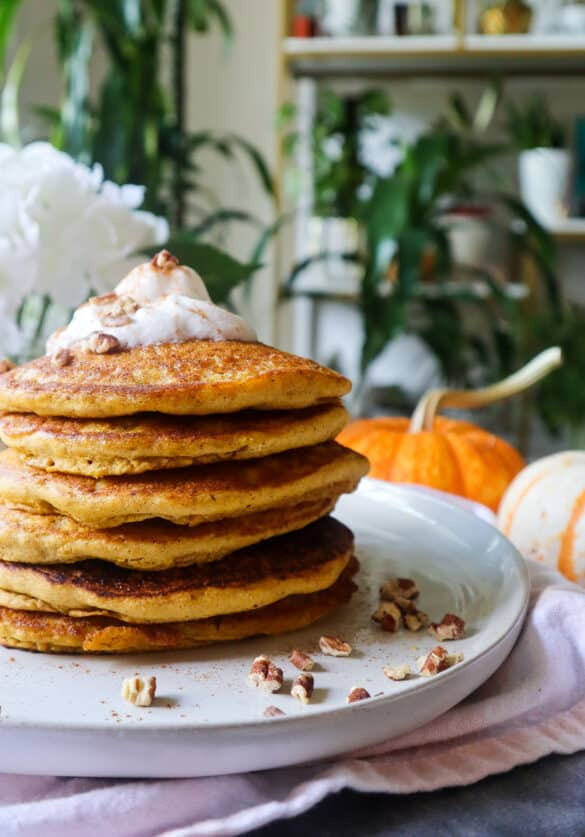 pumpkin pancakes no egg