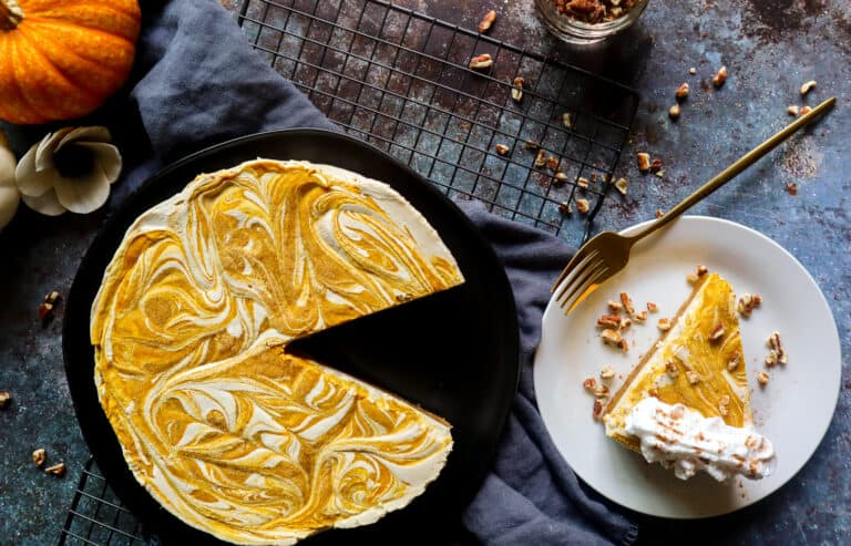recipes with pumpkin spice pumpkin swirl cheesecake