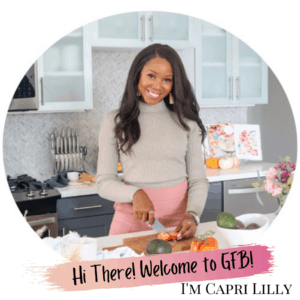 Capri Lilly Creator of GoodFoodBaddie