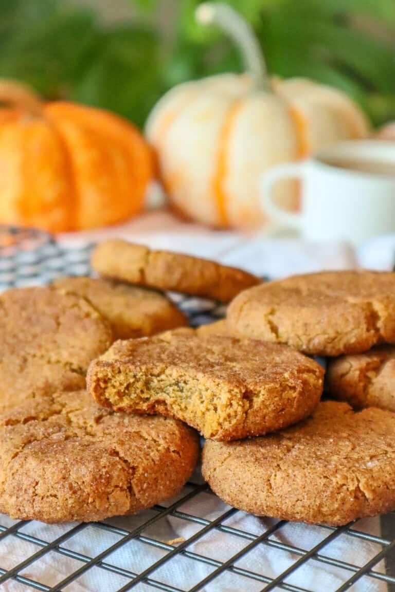 grain free pumpkin cookies