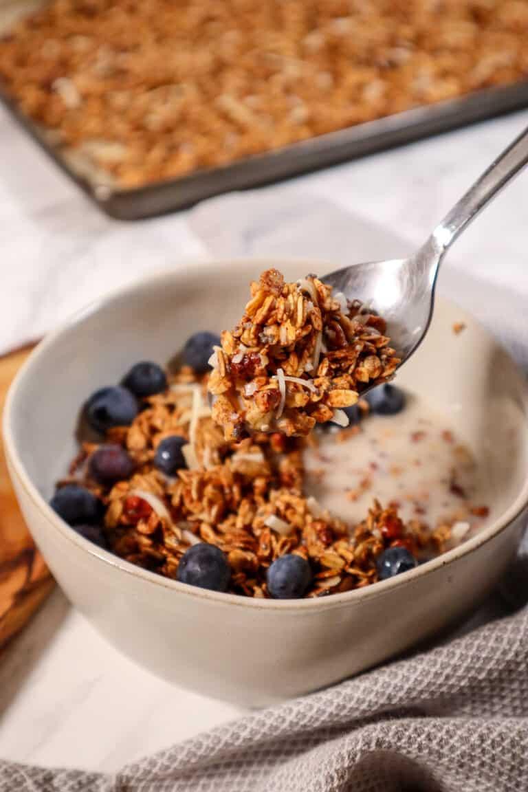 Protein Packed Maple Granola Recipe Gluten Free Good Food Baddie