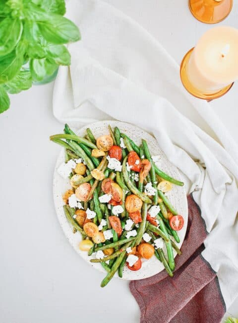 green bean salad kendell kreations