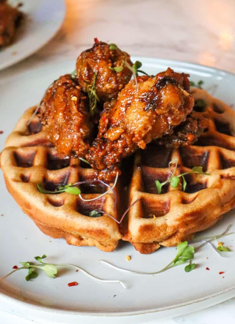 gluten-free chicken and waffles