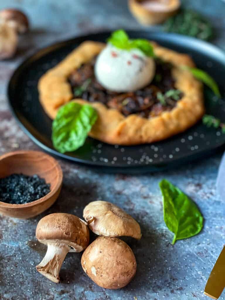 Wild Mushroom Galette Recipe