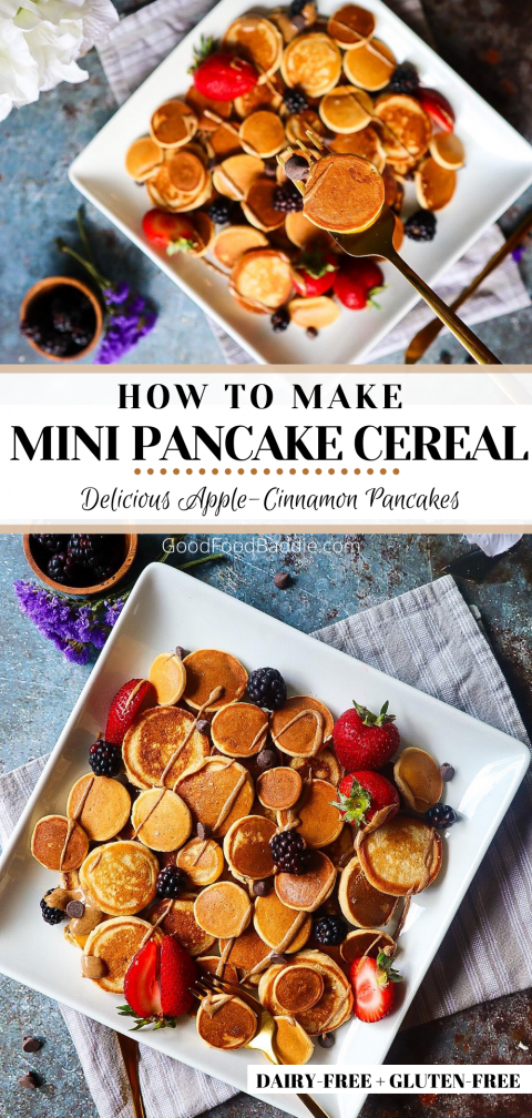 Pin It! Mini Pancakes