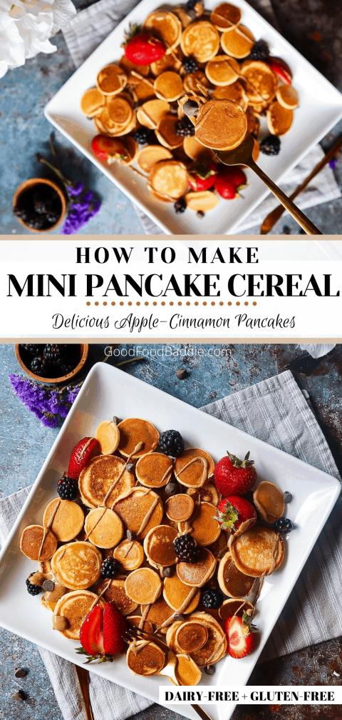 Pin It! Mini Pancakes