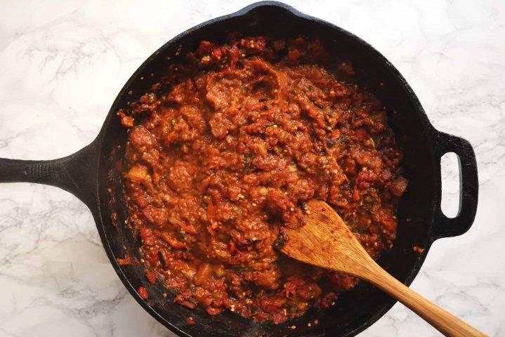 homemade marinara sauce for lasagna