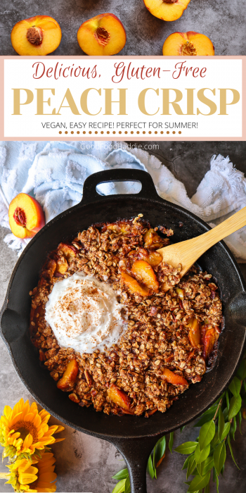 The Best Peach Crisp Recipe