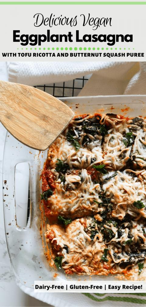 Pin it! Vegan Eggplant Lasagna