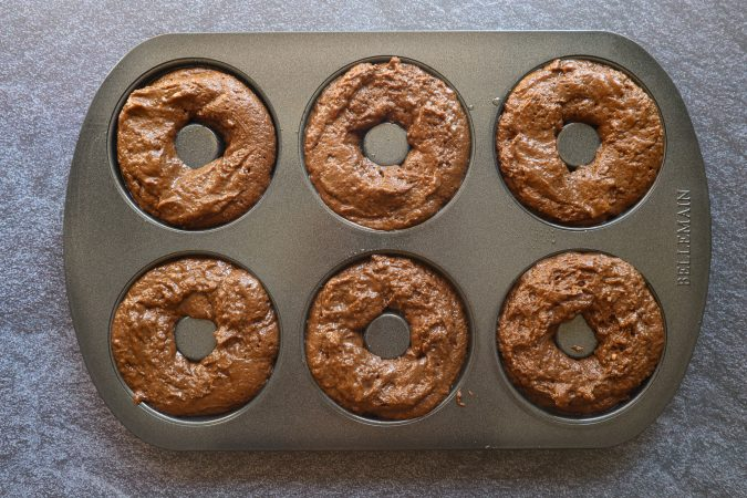 baked chocolate donuts easy recipe