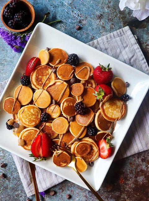 Mini Pancake Social Media Trend