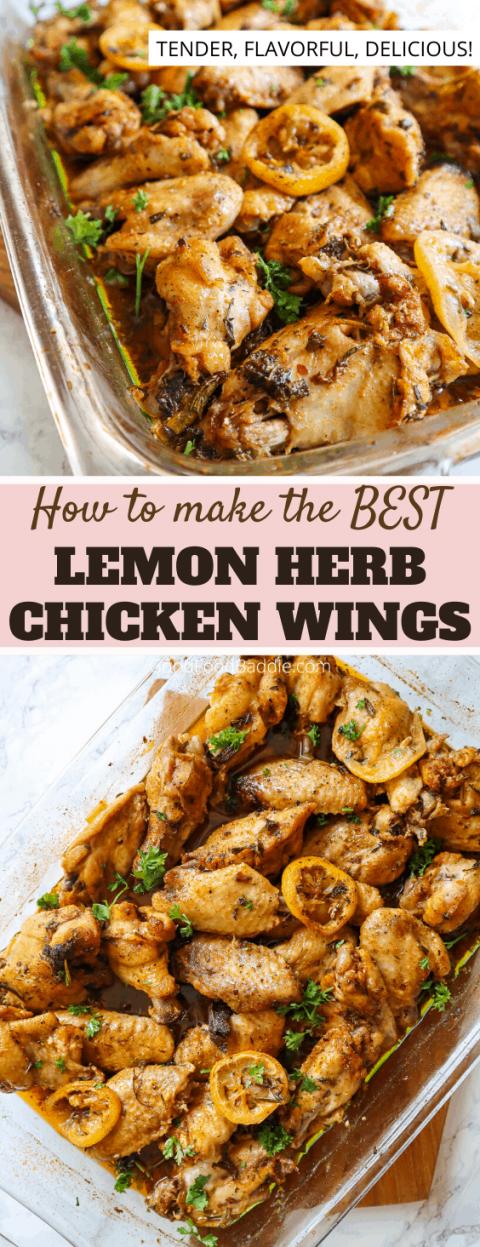 how to make oven baked lemon chicken