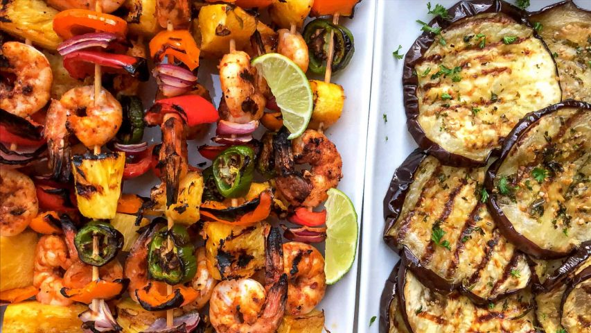 how to make shrimp kebobs grilled
