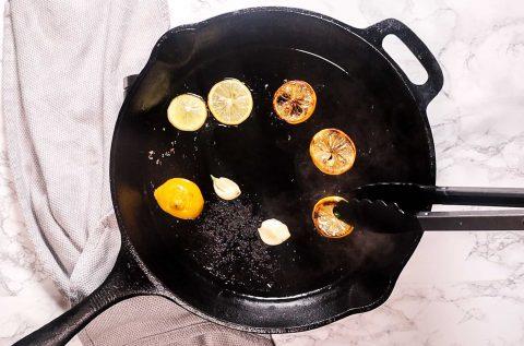 lemon butter greek orzo