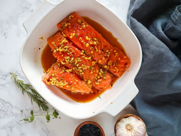 maple Salmon with Rosemary
