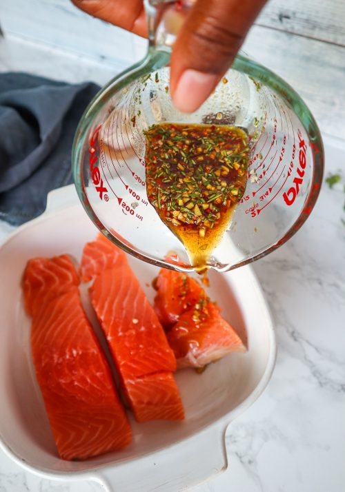 maple ginger salmon recipe