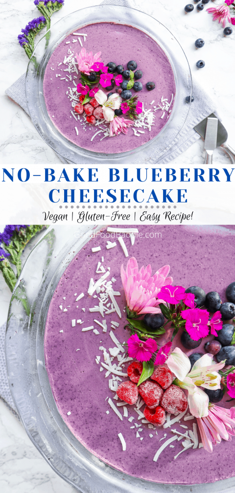 nobake vegan cheesecake