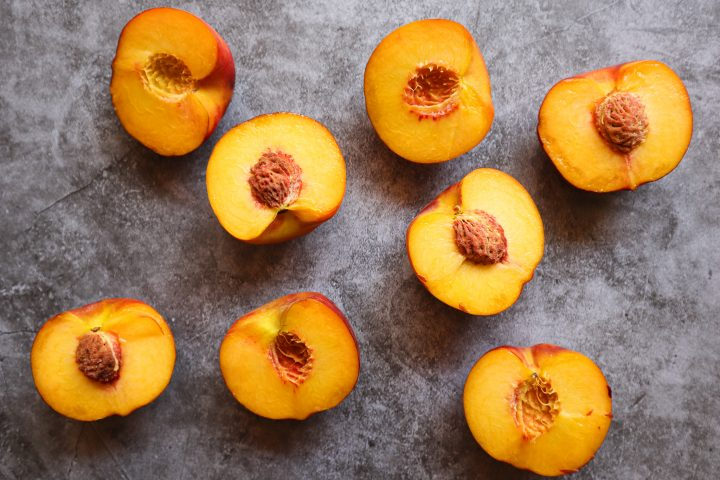 peaches for peach crisp