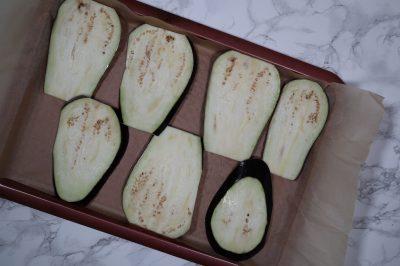 eggplant before roasting