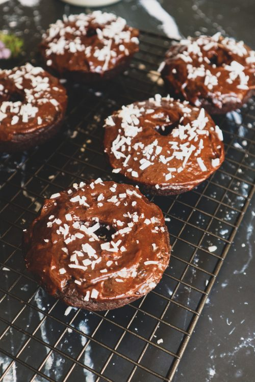 the best baked chocolate donuts gluten-free