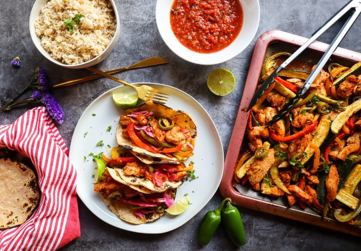 the best chicken fajitas meal prep