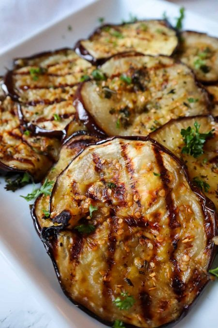 the best grilled eggplant